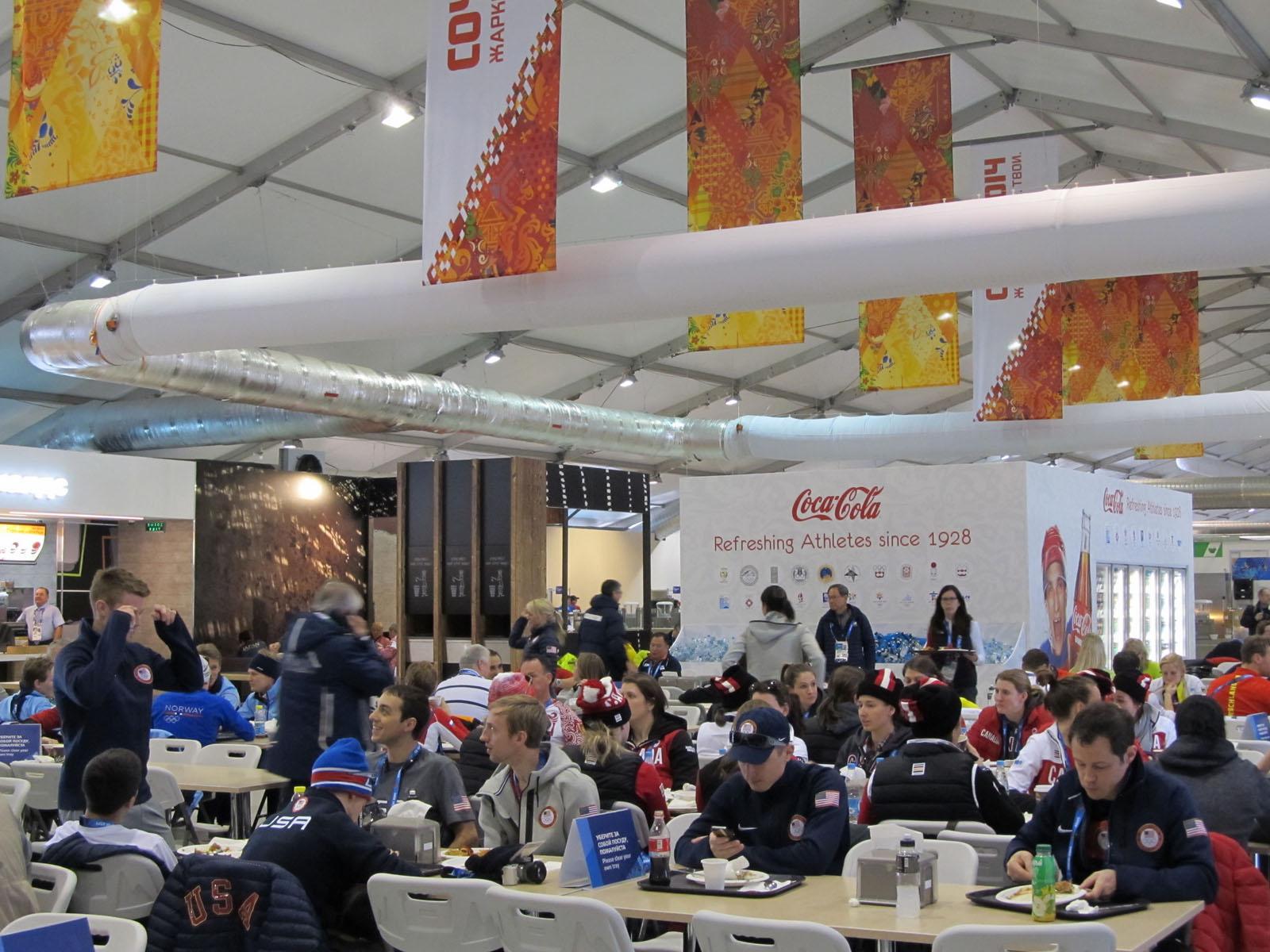 Sochi Athletes Village Dining Hall