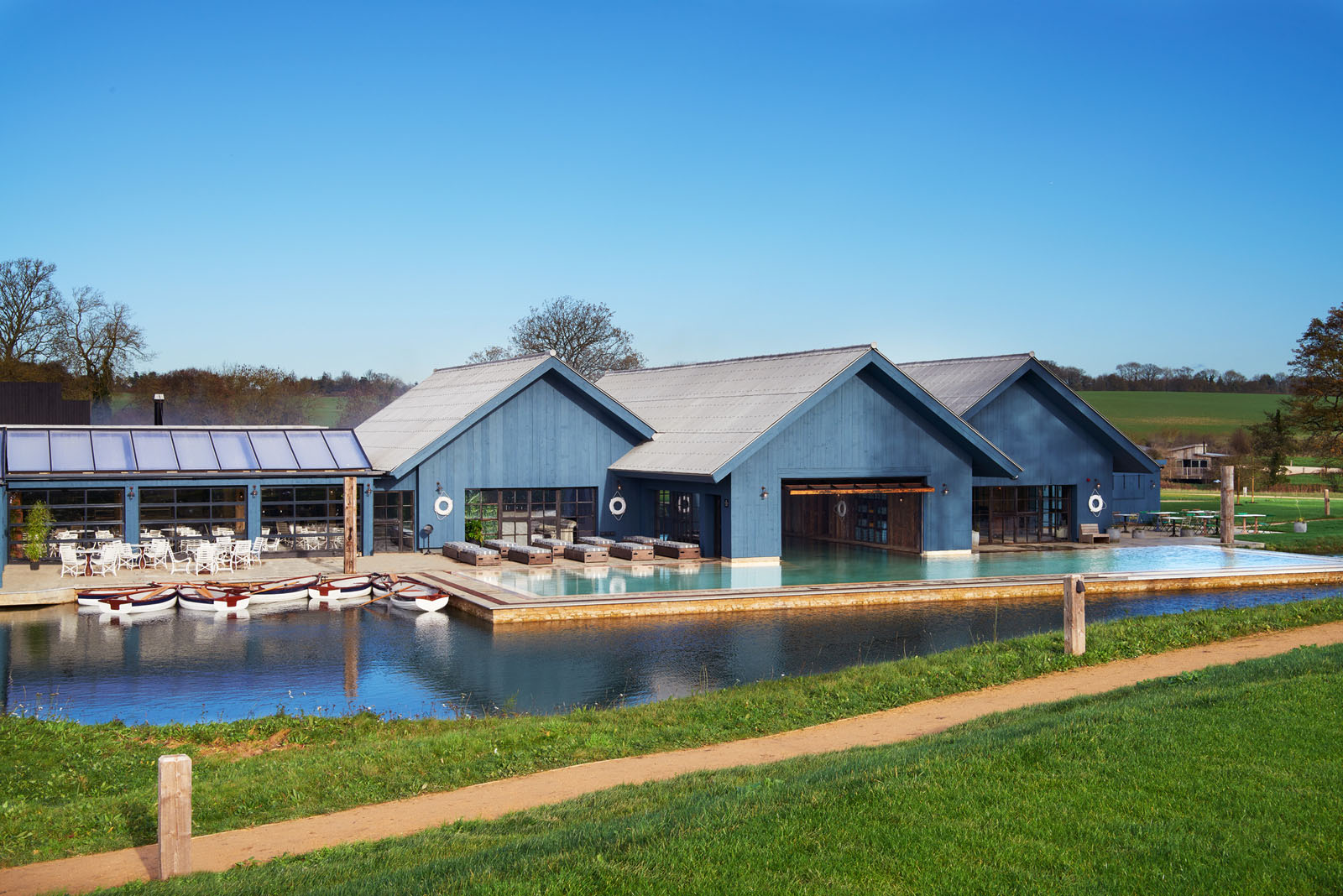 soho farmhouse oxfordshire: an exclusive retreat in the english