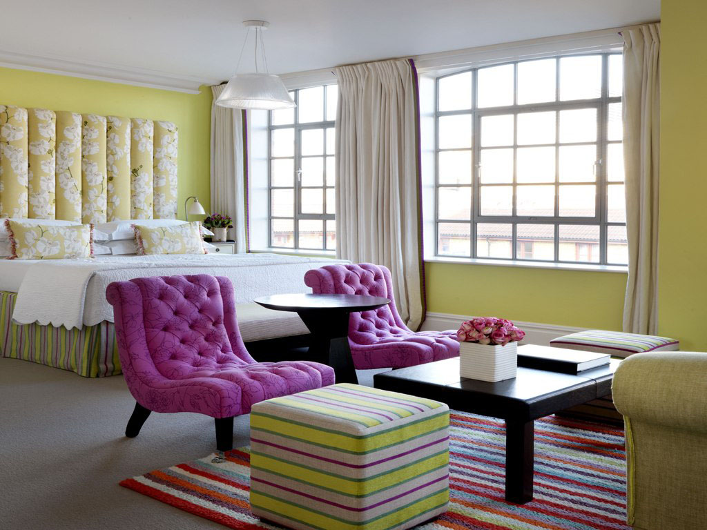 Trendy soho hotel london interiors idesignarch for Design hotel london