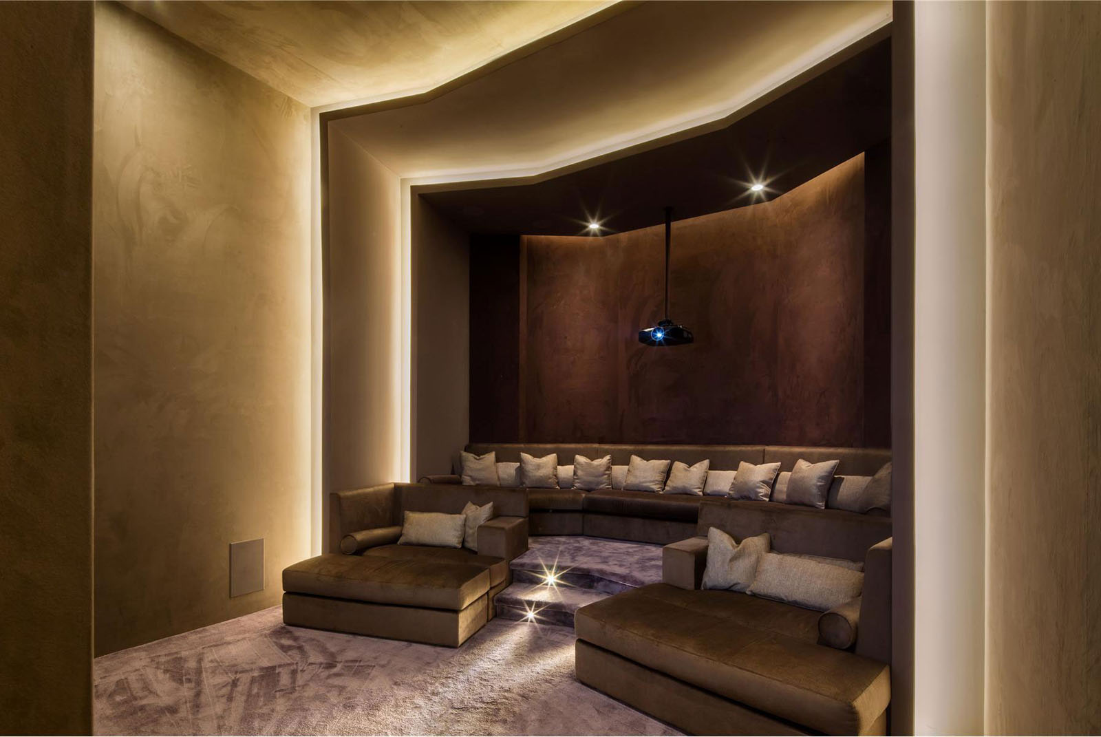 Luxury Home Cinema Media Room