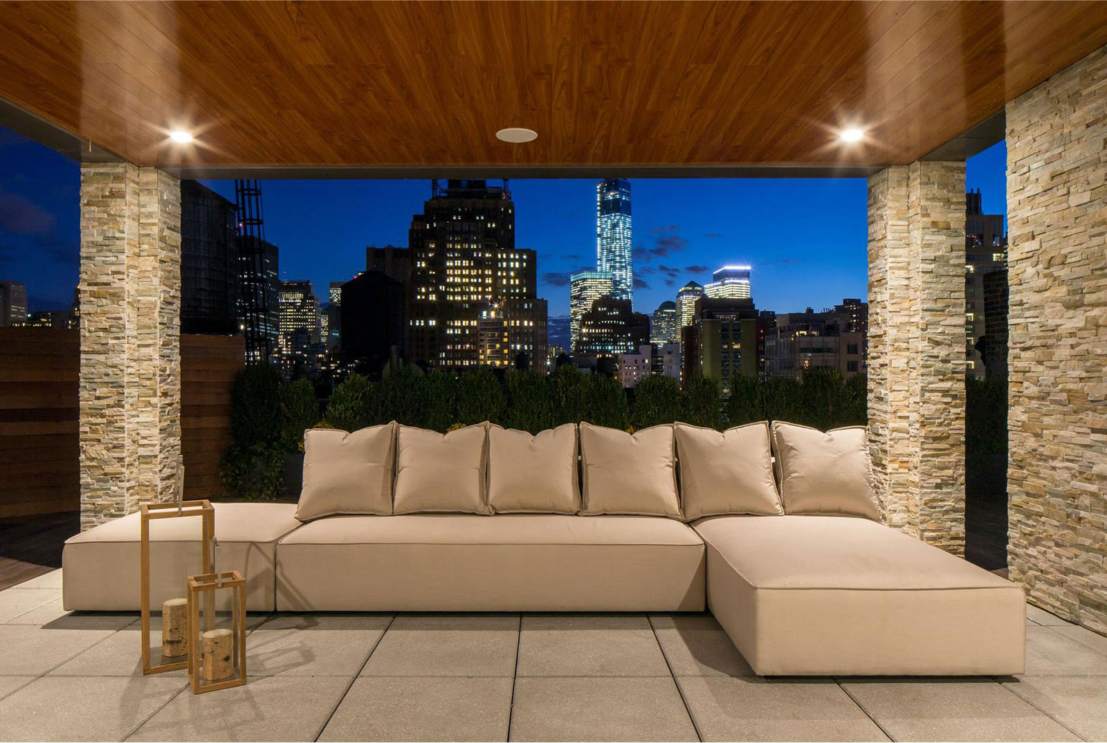 Manhattan Penthouse Apartment Terrace