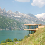 Modern House By The Lake In Switzerland