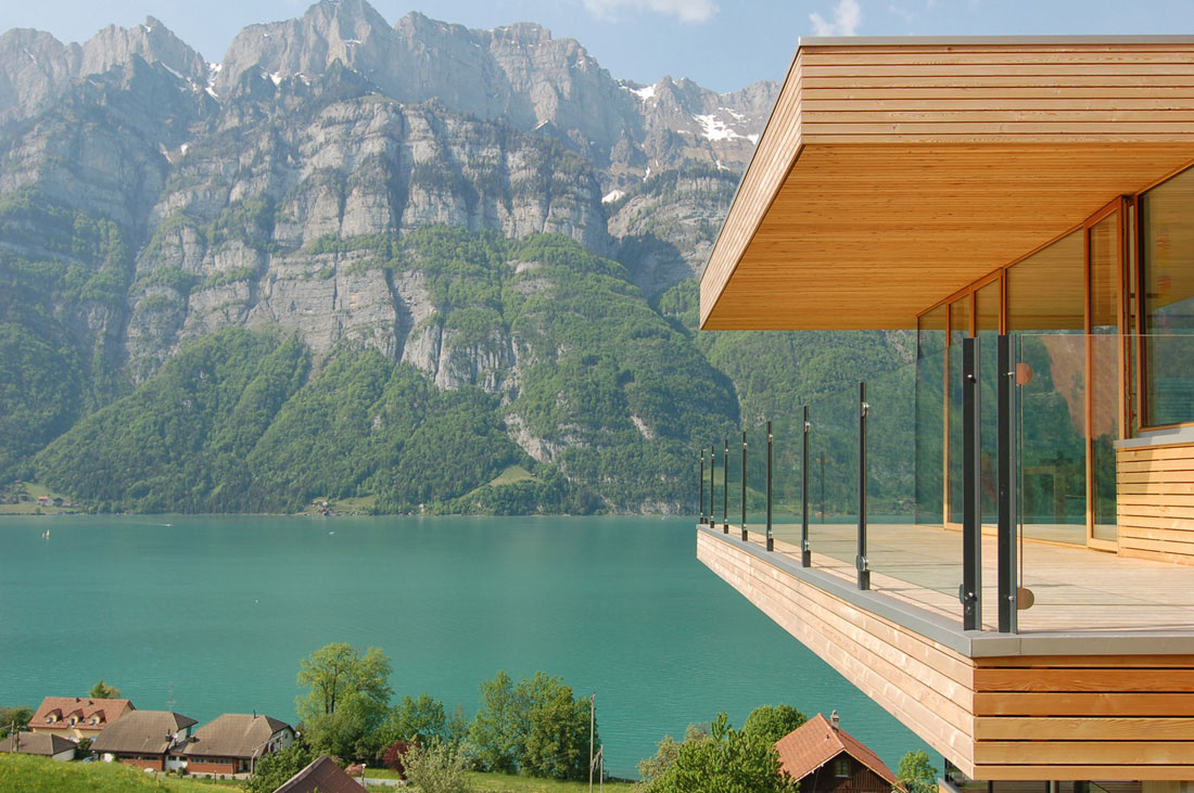 Modern House By he Lake In Switzerland iDesignrch Interior ... - ^