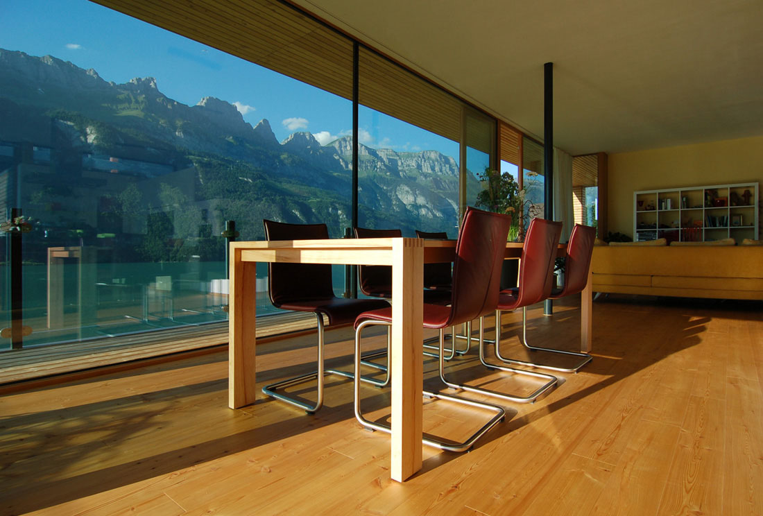 Modern house by the lake in switzerland idesignarch - Modern house interior design ...