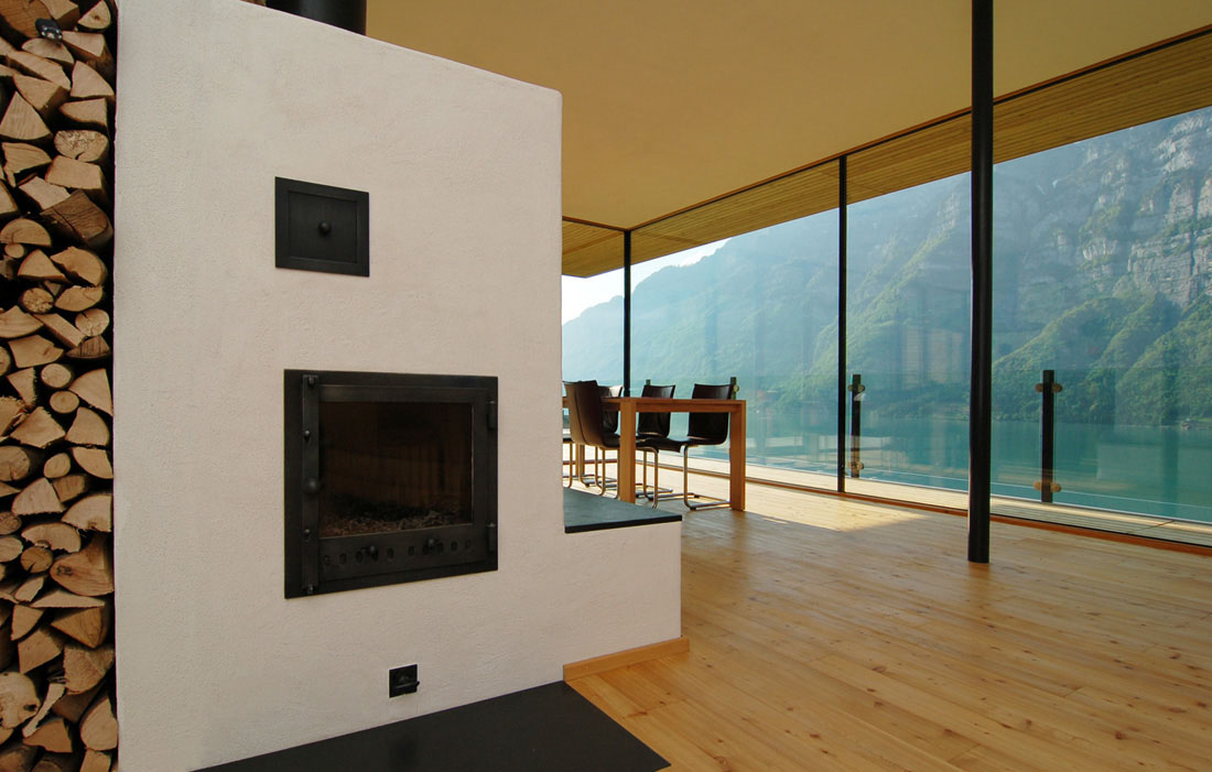 Modern house by the lake in switzerland idesignarch - Contemporary home interior design ...