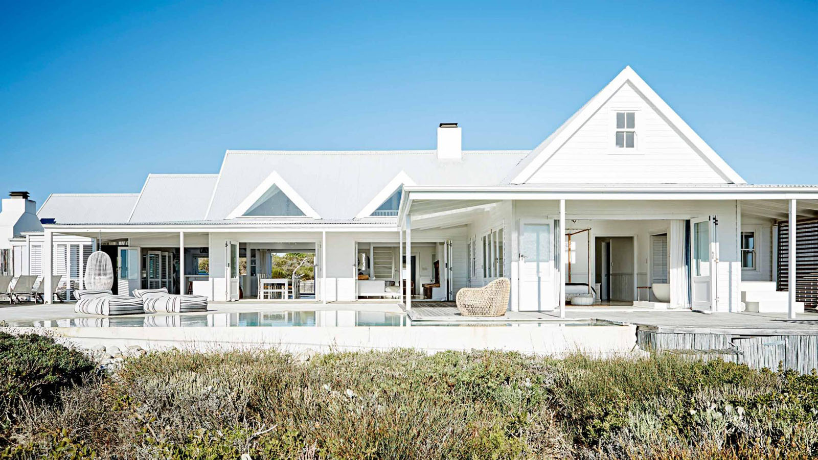 This relaxed contemporary beach house is the ultimate for Contemporary beach house plans
