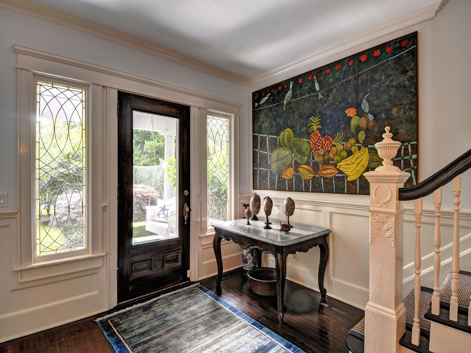 Traditional brownstone in brooklyn heights with contemporary - Traditional Southampton Village Home Restored To Perfection