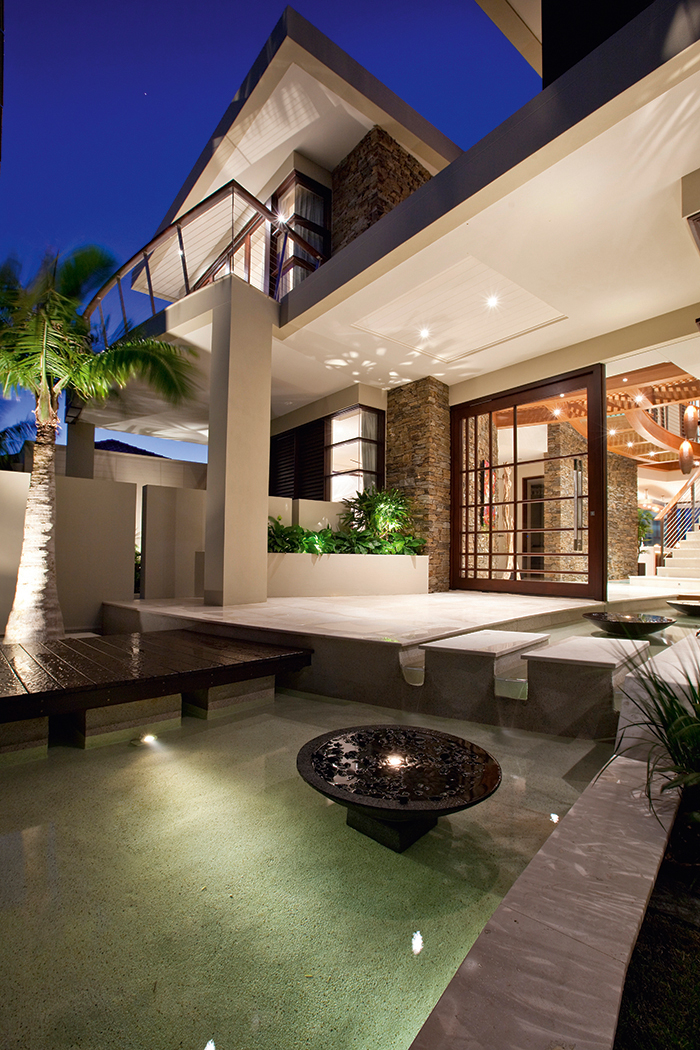 Contemporary Waterfront Island Home With A Tropical Resort Style Design Idesignarch Interior