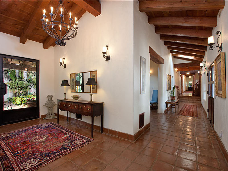 Beautiful Spanish Hacienda In Santa Barbara | iDesignArch