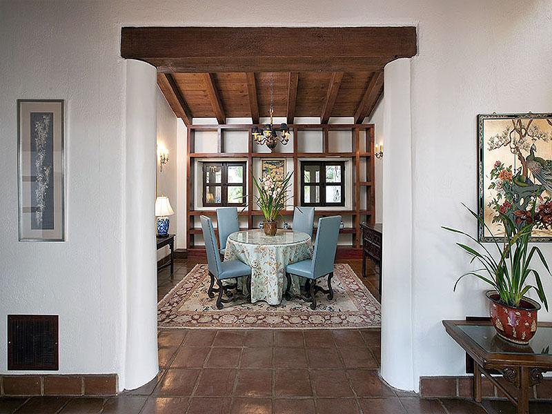 Beautiful Spanish Hacienda In Santa Barbara