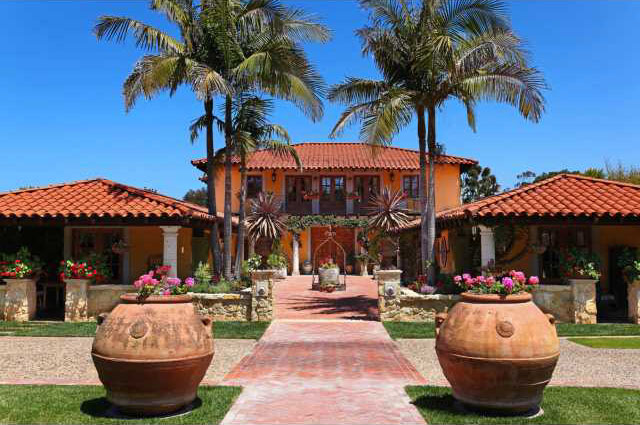 Spanish Colonial HaciendaStyle Home With A Touch Of Tuscany
