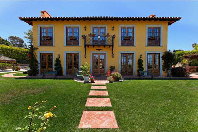 Spanish Colonial Hacienda Style Home With A Touch Of