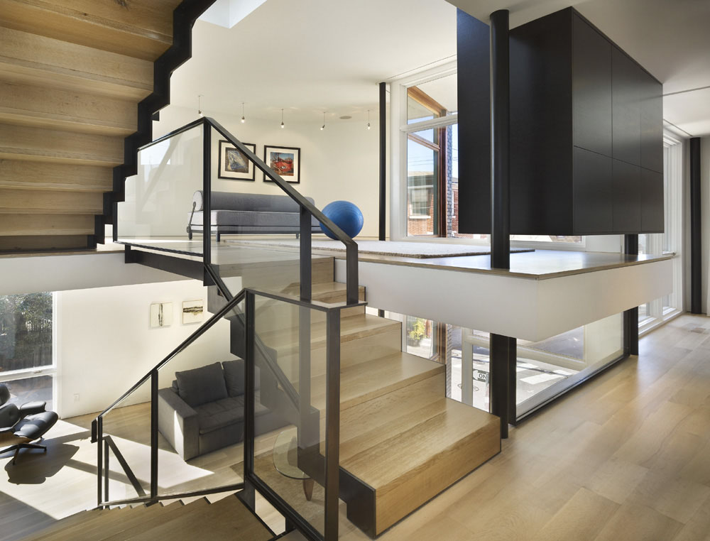 Split Level House In Philadelphia | iDesignArch | Interior ...