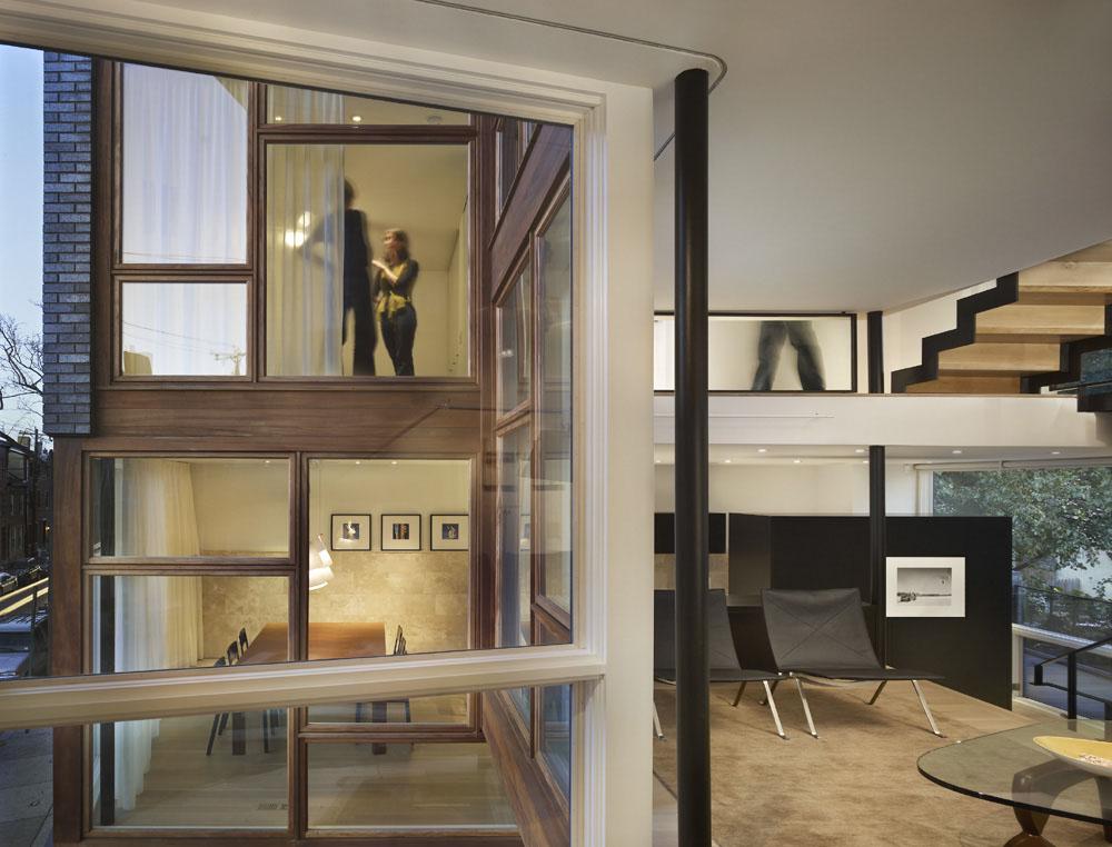 split level house in philadelphia idesignarch interior design. beautiful ideas. Home Design Ideas