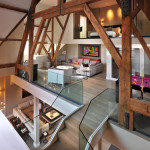 Contemporary London Penthouse Apartment In A Grade I Listed Building