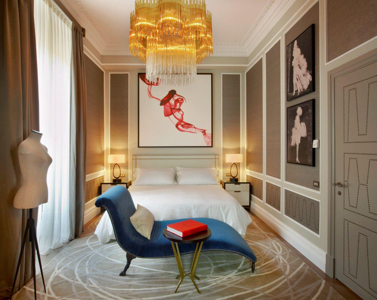 Contemporary Elegant Interior Design St. Regis Rome