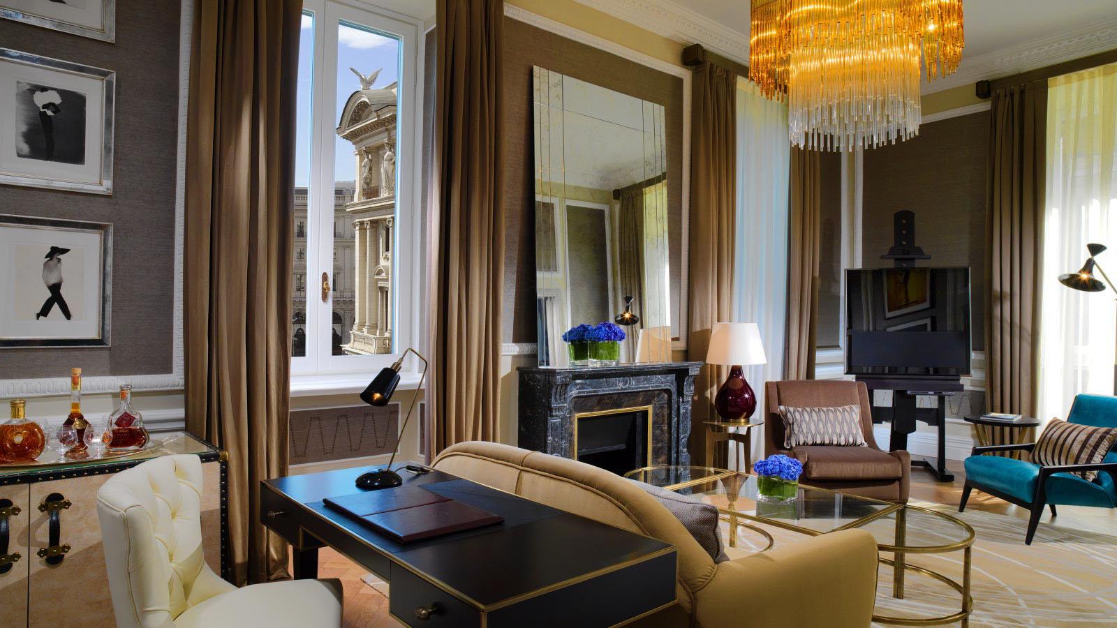 St. Regis Rome Couture Suite
