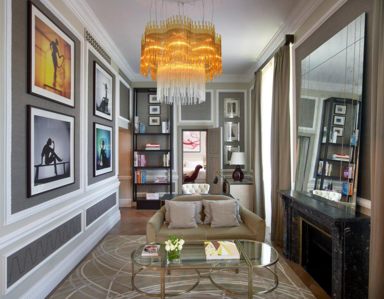 Timeless elegance of the couture suite the st regis for Roma interior design