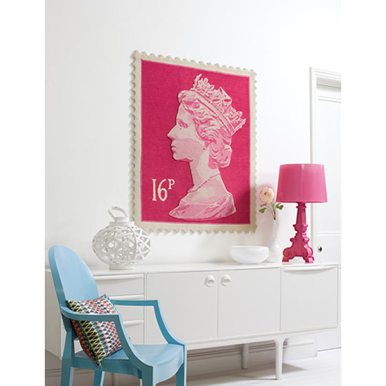 Stamp Rug queen elizabeth ii royal mail stamp rugs | idesignarch | interior