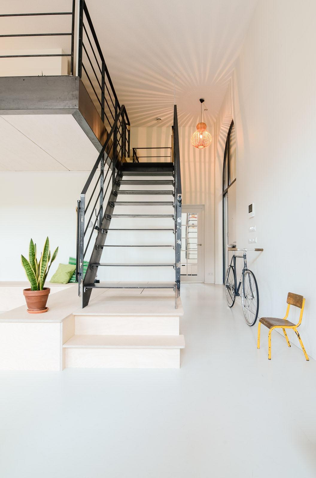 Old school building converted into modern family loft - Interior design schools in atlanta ...