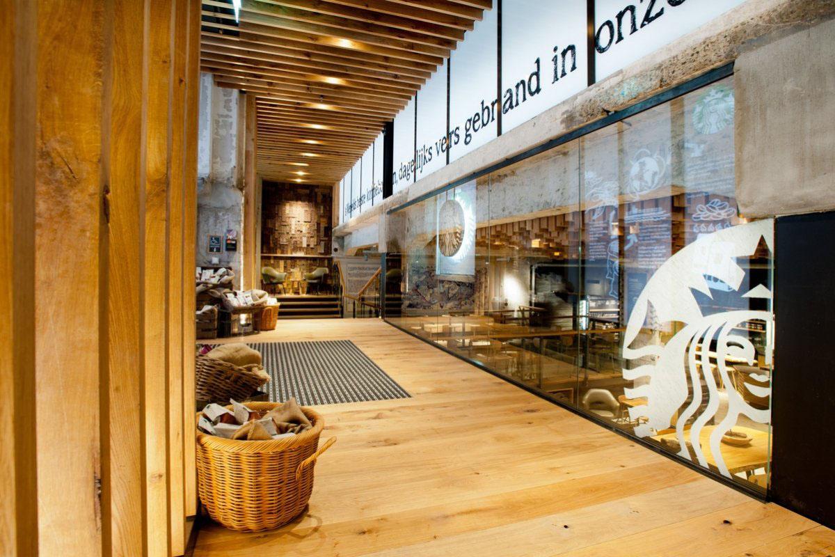 The Bank - A Starbucks Coffee Theatre In Amsterdam | iDesignArch ...