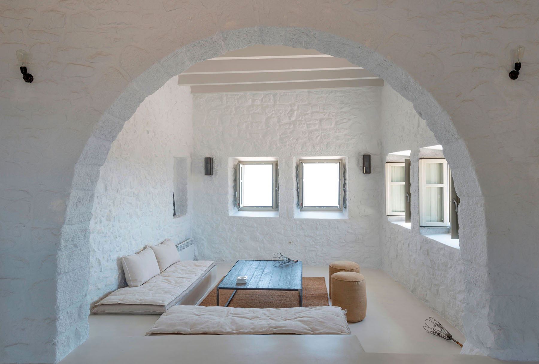 Greek Island Stone House