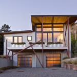 An Economically Built Modern Beach House
