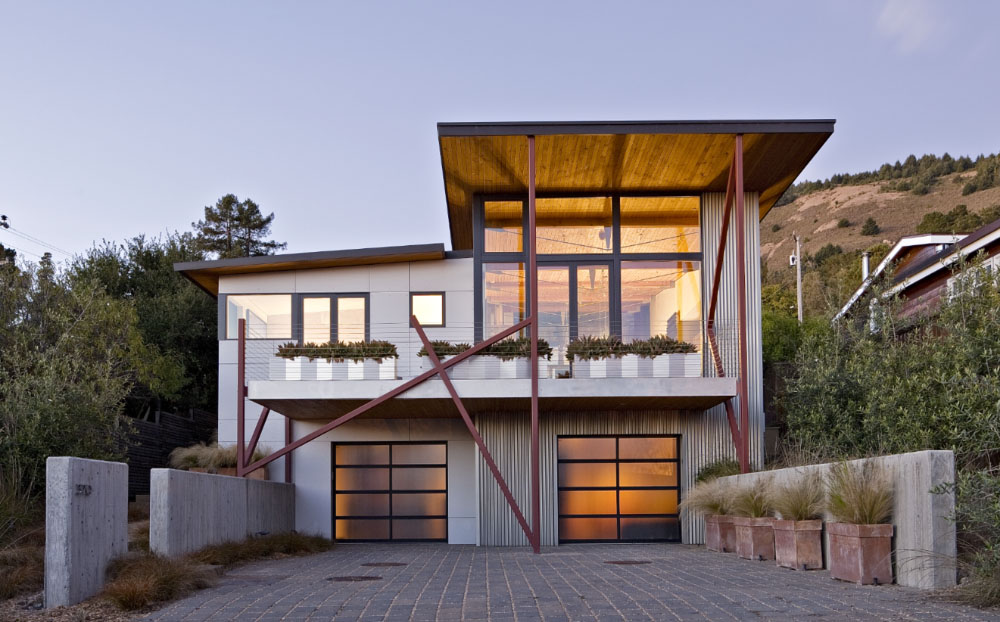 Stinson Beach House Located In The Small Town Of Stinson Beach In
