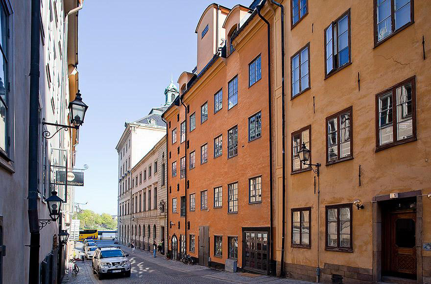 Old Town Gamla Stan in Stockholm Sweden