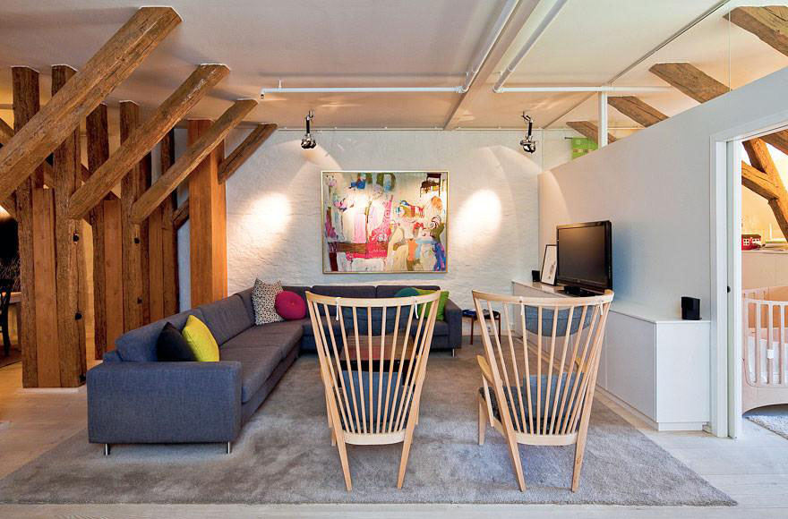 Contemporary Attic Apartment