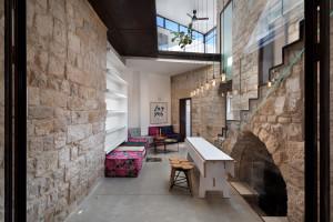 Modern Stone House Interior