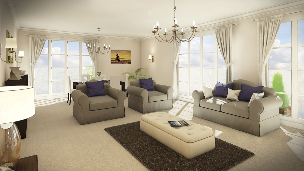 Classical Contemporary Interior Decor