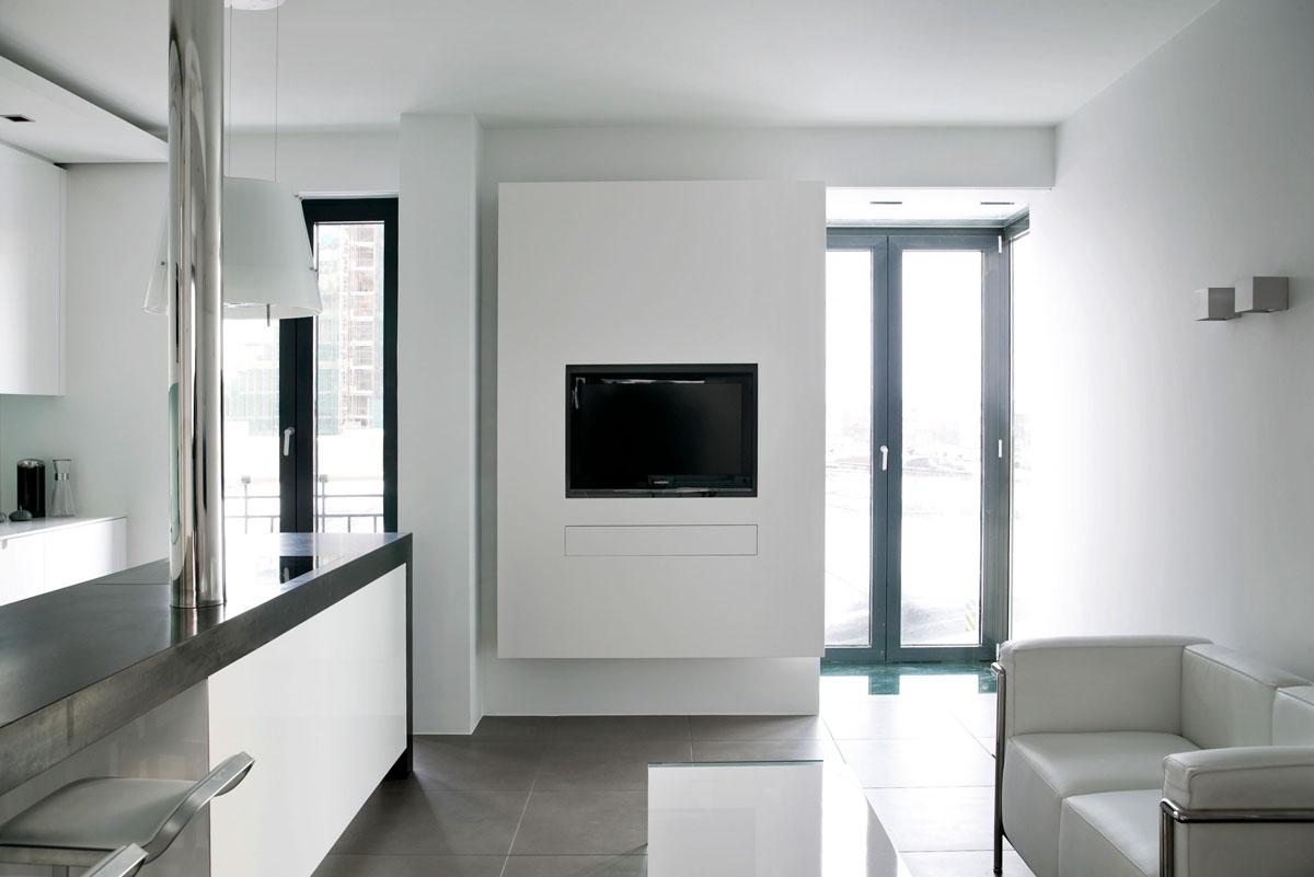 560 square foot studio apartment in iceland | idesignarch