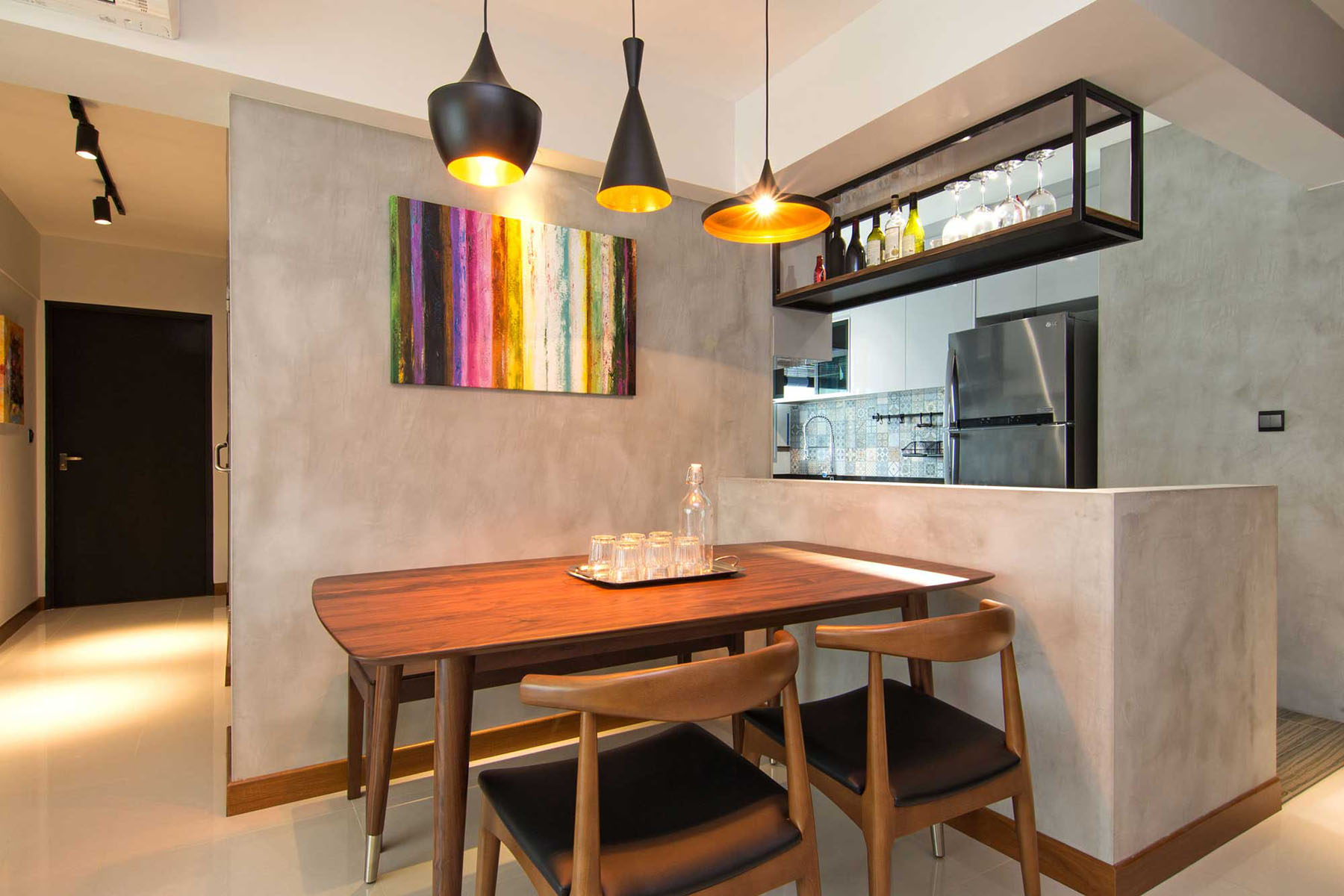 Apartment Interior Design Singapore cozy apartment in singapore with stylish elements | idesignarch