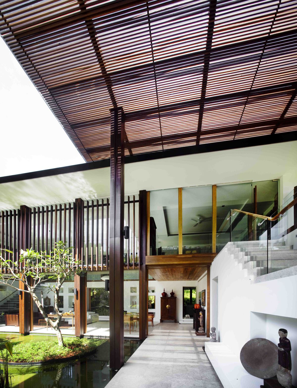 Private Lush Paradise By Guz Architects Idesignarch