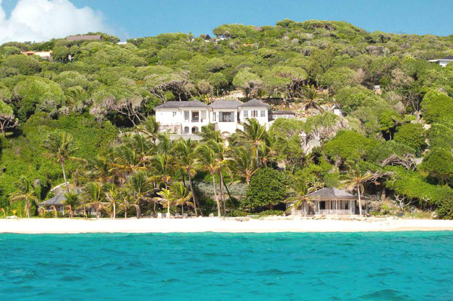 Caribbean Hillside House