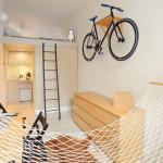 Tiny 140 Square Foot Studio Apartment Offers Efficient Urban Living