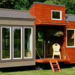 Rustic Modern Tiny House For Tall People