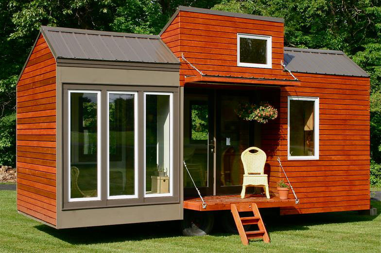 Rustic Modern Tiny House For Tall People | iDesignArch | Interior ...