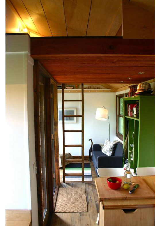 Furniture For Tiny Houses Interiors : Rustic Modern Tiny House For Tall People  iDesignArch  Interior ...