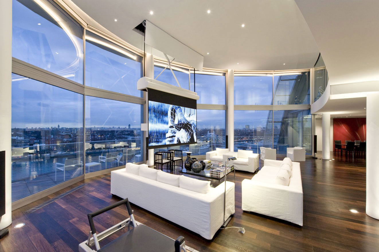 Thames Riverside Luxury Penthouse Apartment Idesignarch Interior Design Architecture