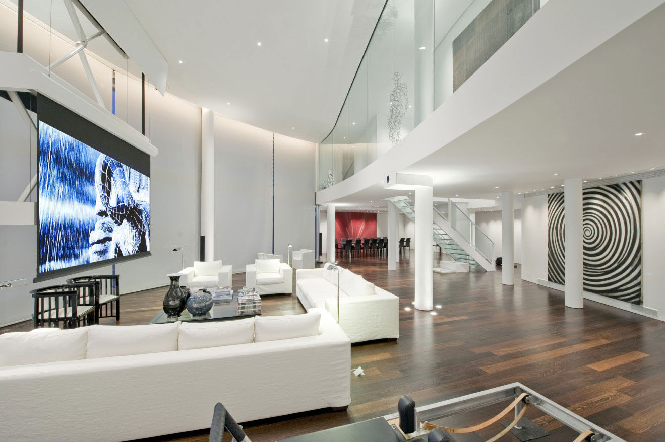 Richard Meier Penthouse Interior Design