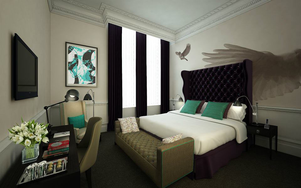 The ampersand hotel london victorian architecture with for Boutique hotel 6 rooms