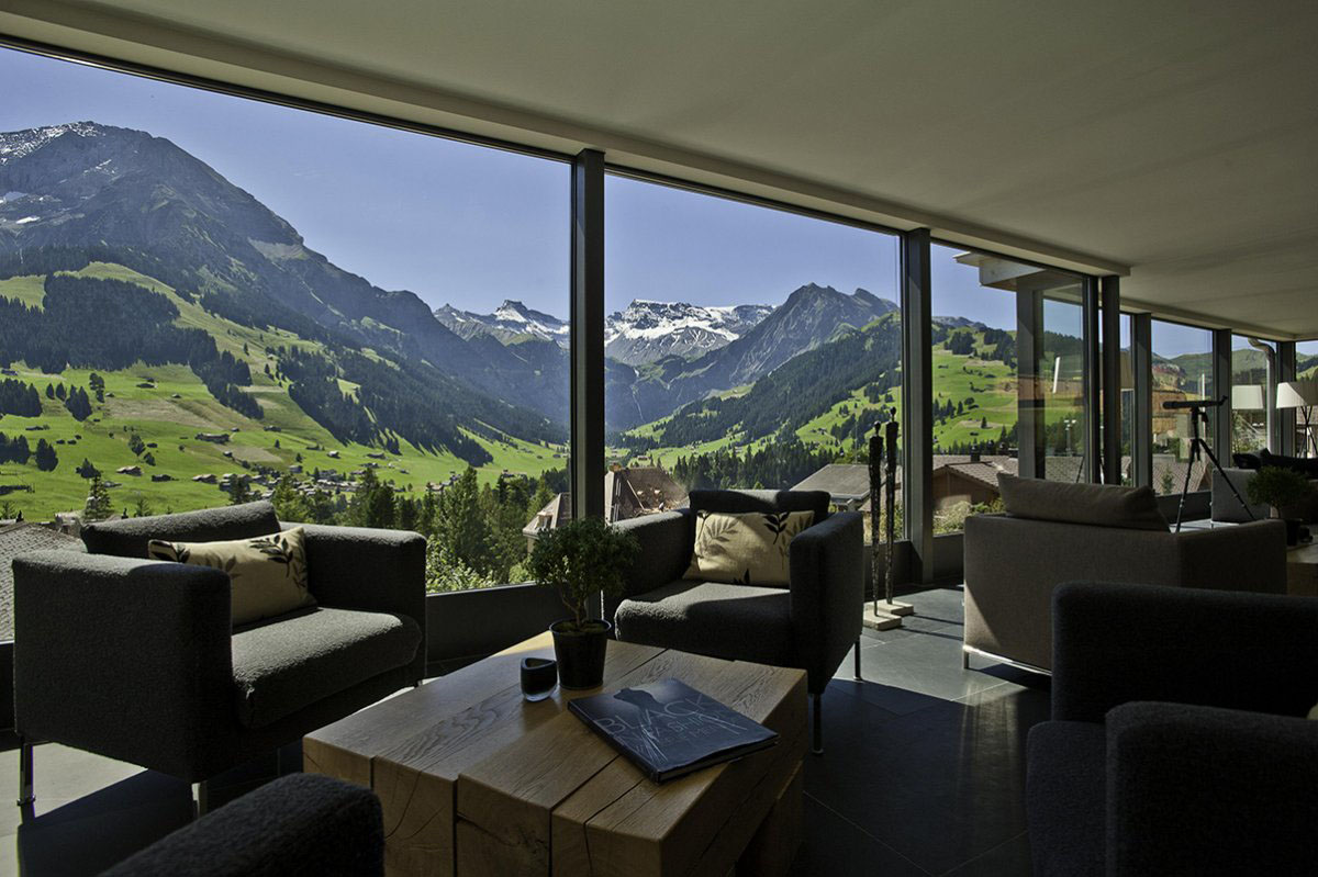 The Cambrian Hotel Cosmopolitan Comfort In The Swiss Alps Idesignarch Interior Design