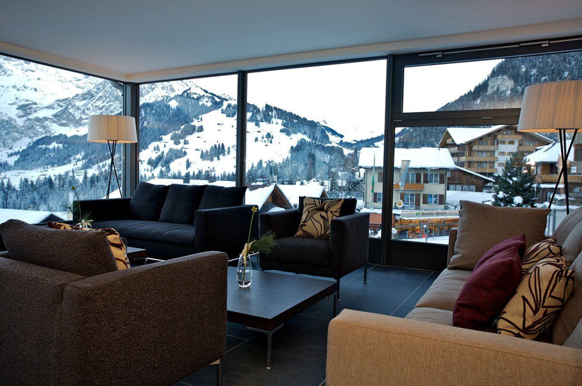 The Cambrian Hotel - Cosmopolitan Comfort In The Swiss Alps  iDesignArch  Interior Design