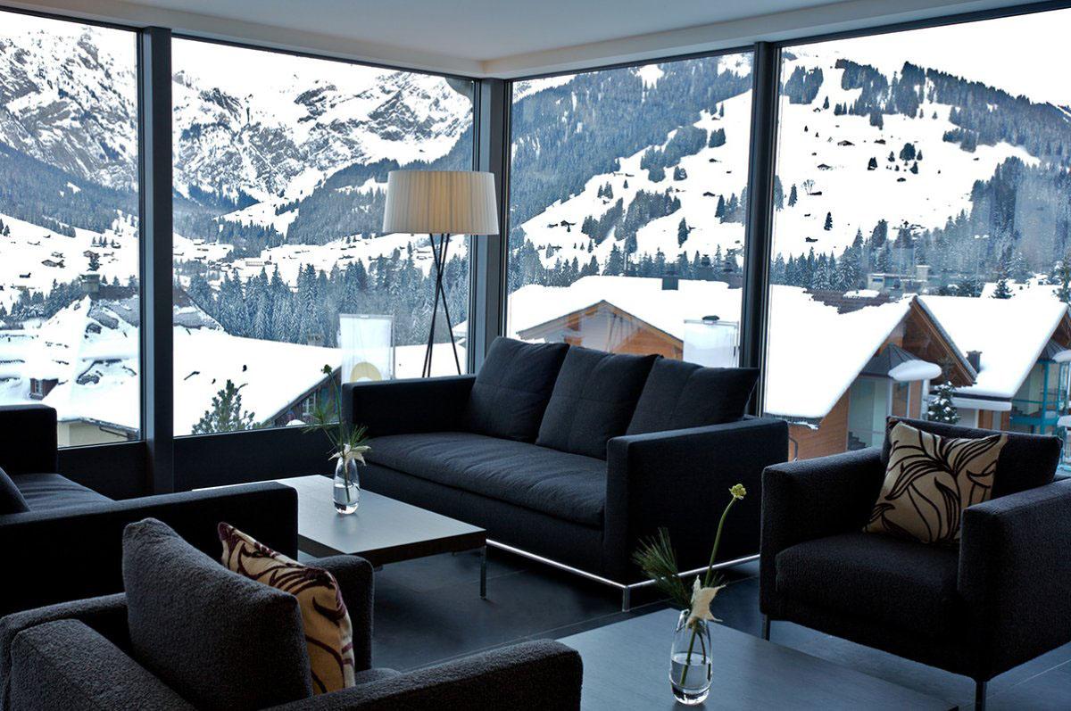 The Cambrian Hotel - Cosmopolitan Comfort In The Swiss Alps  iDesignArch  Interior Design