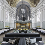 Former Chapel Transformed Into The Jane Restaurant In Antwerp