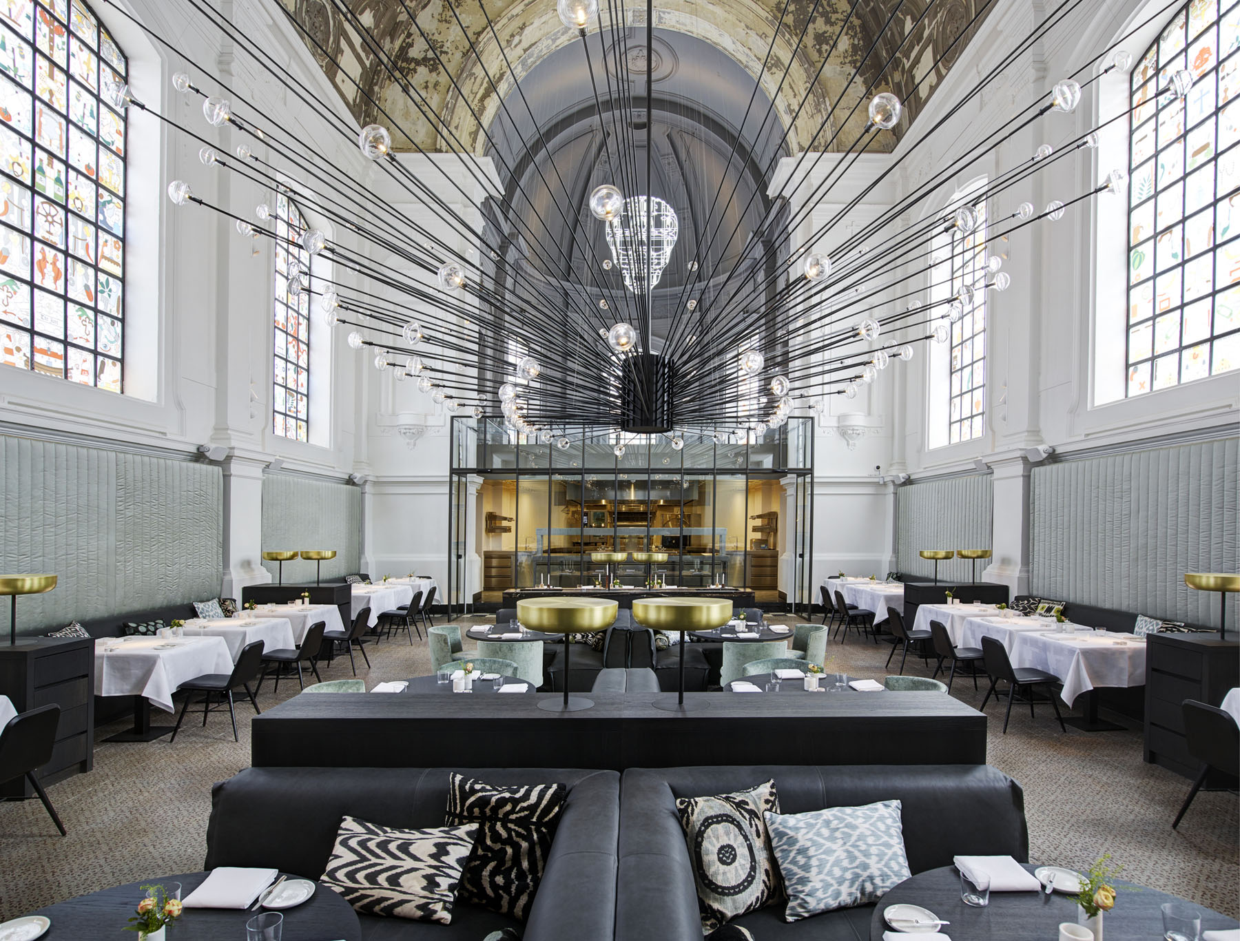 Contemporary Restaurant Church Conversion