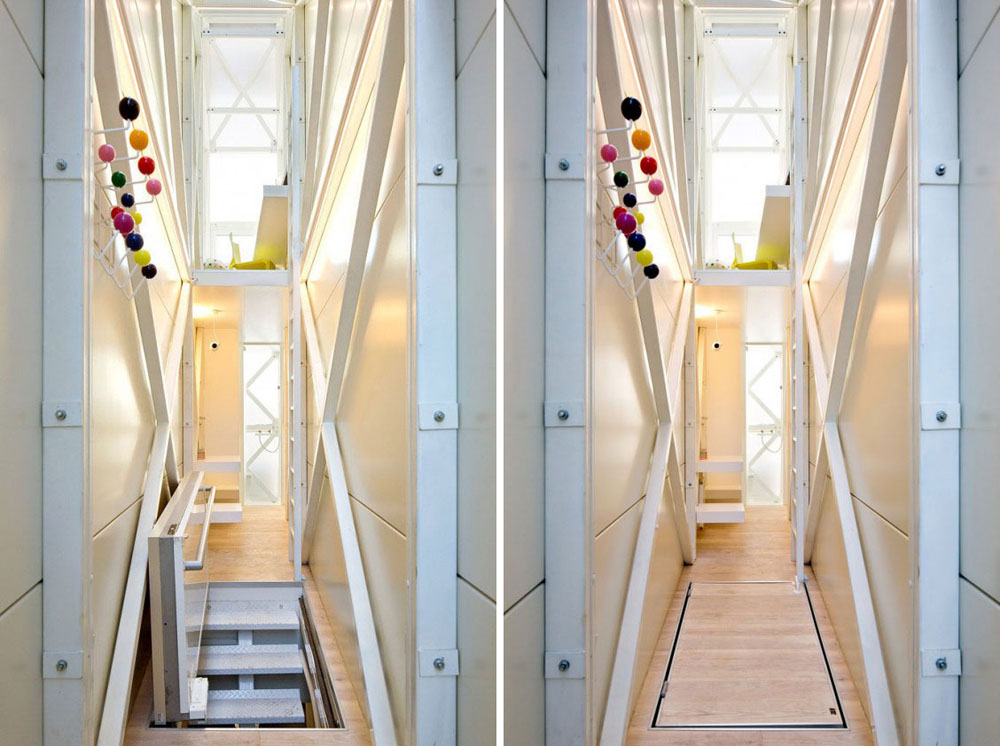 Inside The Coolest Tiny Narrow House In World