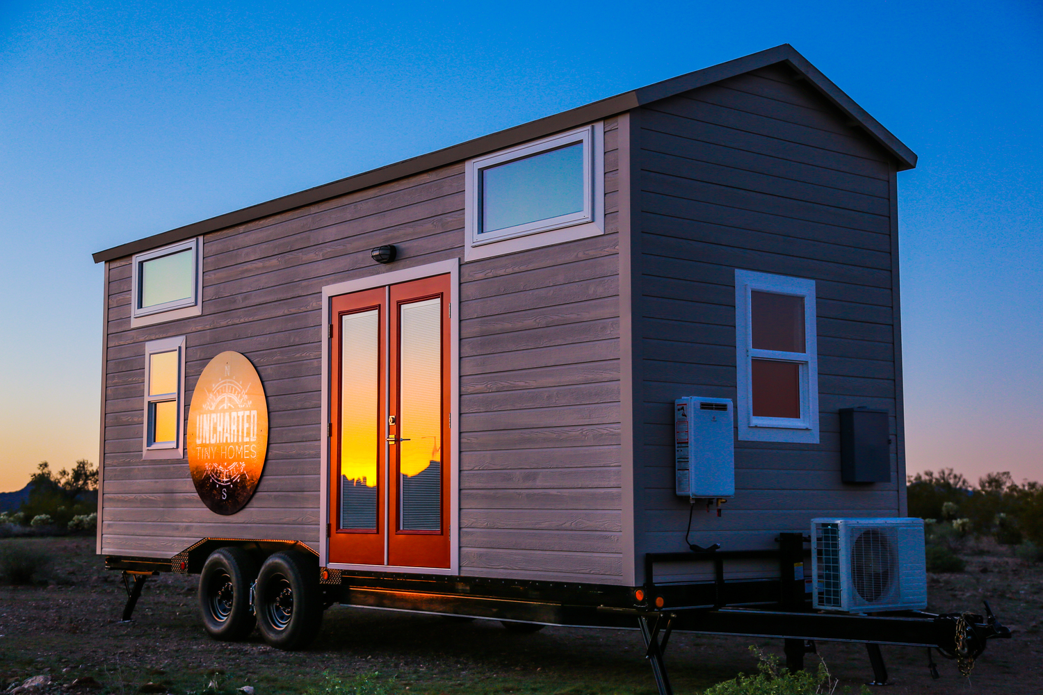 Small Airstream Trailer >> Tiny Dream Home On Wheels With Two Sleeping Lofts ...